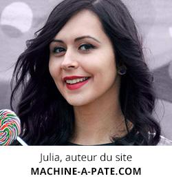 Julia du site machine-a-pate.com