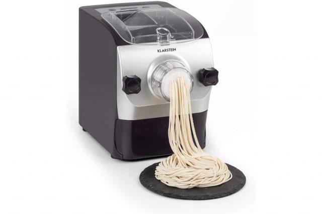 Klarstein Pastamania : la machine à pâtes électrique permettant jusqu'à 7 différentes formes